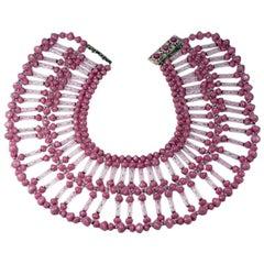Oversized Miriam Haskell Collar
