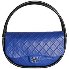 Chanel Hula Hoop Medium Bag Limited Edition - cobalt blue/black