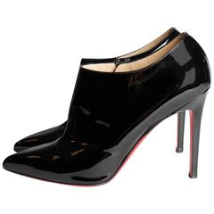 Christian Louboutin Ankle Boots - black patent leather
