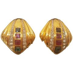 Lanvin Clip on Earrings