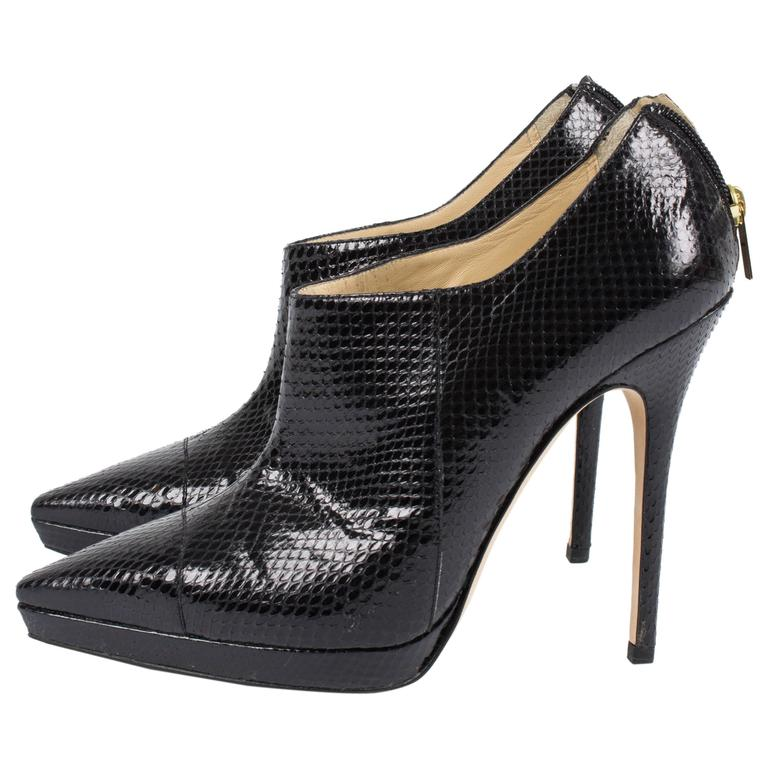 Jimmy Choo Watersnake Pumps - black   Jimmy Choo Watersnake Pumps - black Jimm