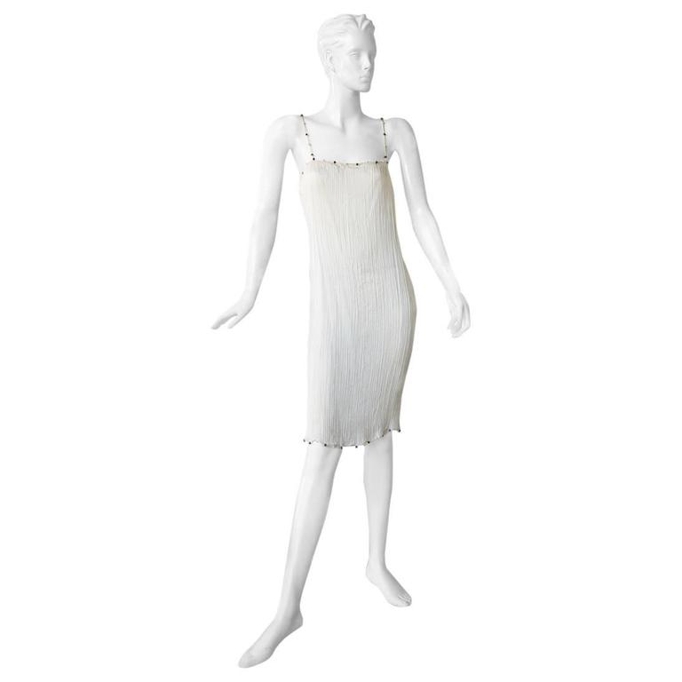 """Christian Dior by Galliano """"Hommage to Mariano Fortuny"""" Delphos Dress For Sale"""