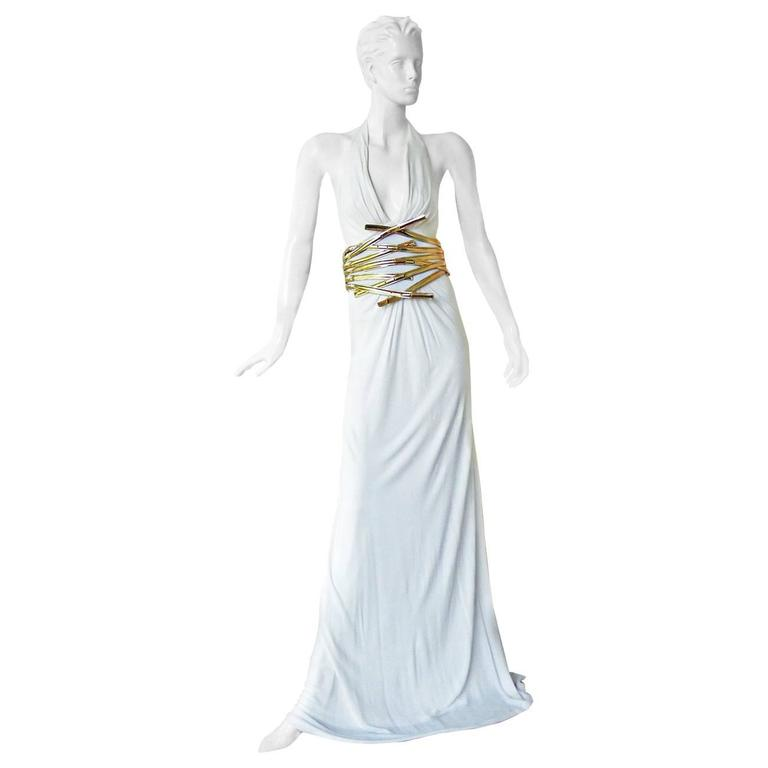 Dsquared Grecian Style Drape Runway Dress Gown  Sale!