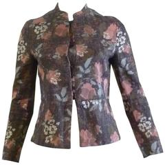 Dries Van Noten Cotton/Silk Floral Jacket
