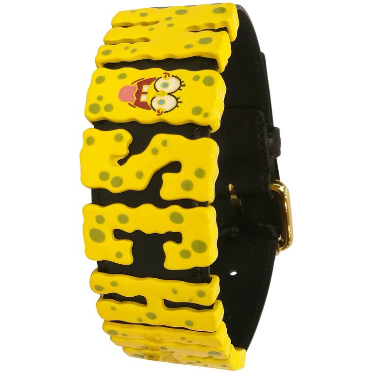 Moschino Spongebob Effect Chocker NWOT  For Sale