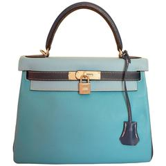 Nice 2012 Hermes Kelly 28 Bag in 3 colors. Special order. Free shipping