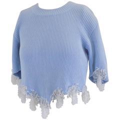 Sandra Molinella light blu shirt