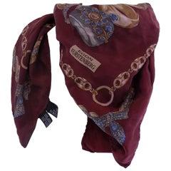 1980s Egon Furstenberg Rare Silk Foulard