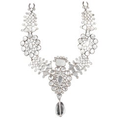 Tom Ford for YSL Majestic Moghul style necklace and matching drop earrings