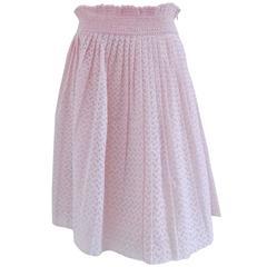 Prada Pink Skirt NWOT