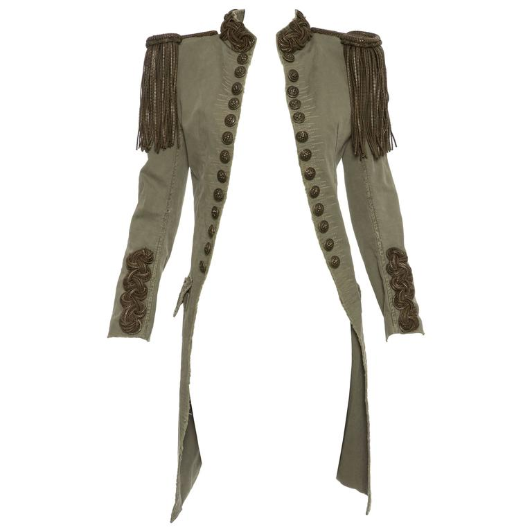 Balmain By Christophe Decarnin Military Jacket, Spring - Summer 2010 1