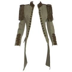 Balmain By Christophe Decarnin Military Jacket, Spring - Summer 2010