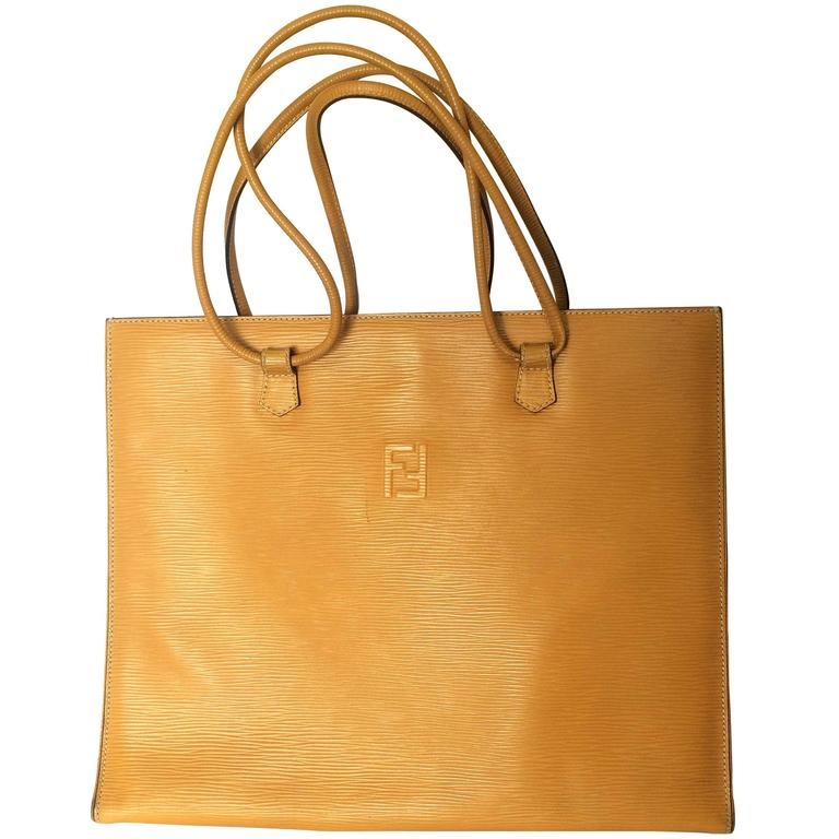 Fendi Bags Yellow