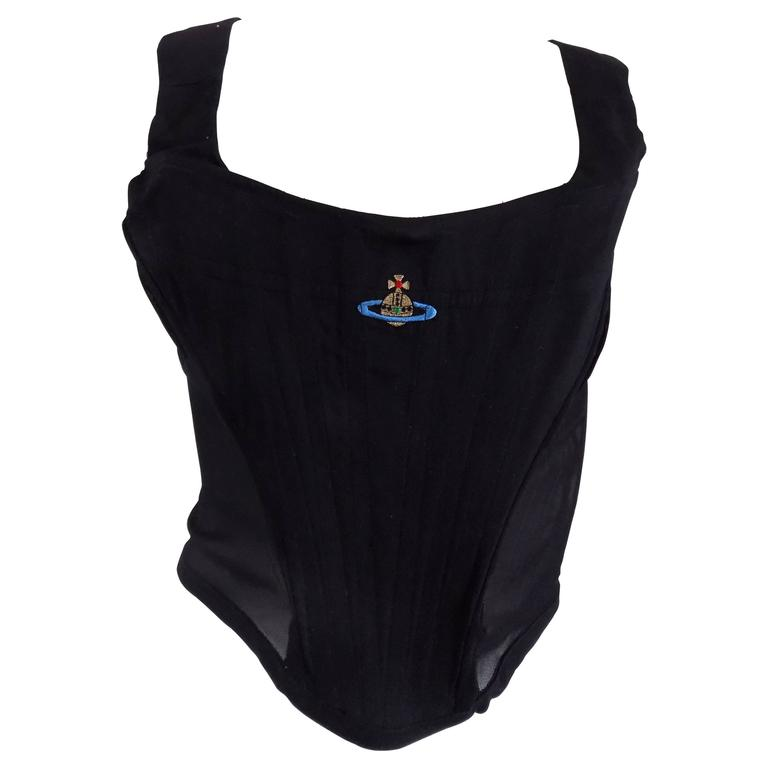 Vivienne Westwood black corset For Sale