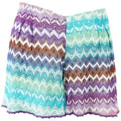 Missoni Mare Multi Color Knit Shorts-40
