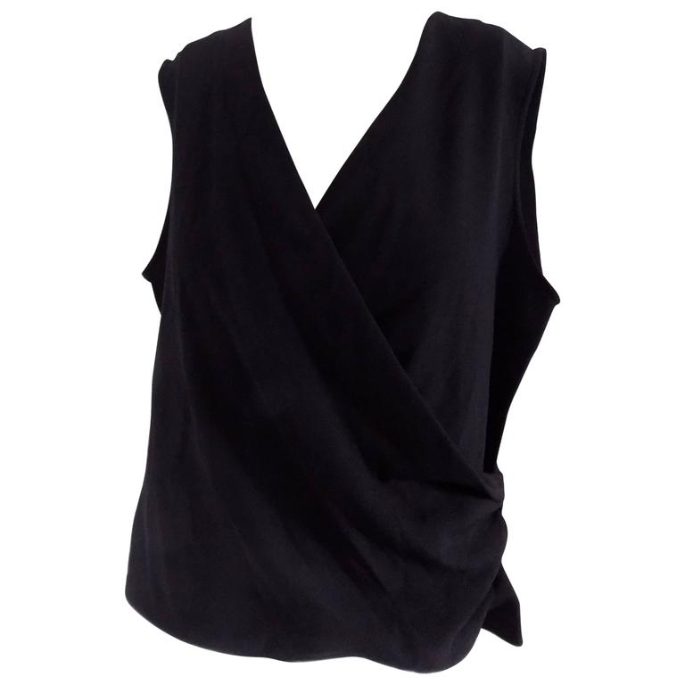 Yves Saint Laurent Black Shirt At 1stdibs