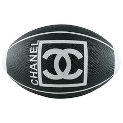 Chanel Rare Collector Limited Edition Rubber Rugby Ball 2007