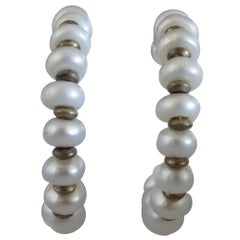 18kt Gold Pearls Earrings