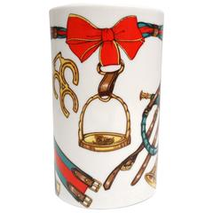 1980s Gucci Holiday Bone China Cup
