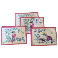 Set of 6 Vintage Hermes Table Place Mats