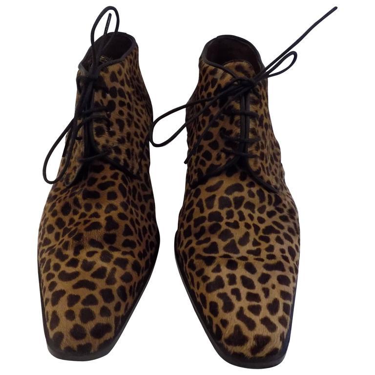 Duccio Del Duca pony hair shoes For Sale