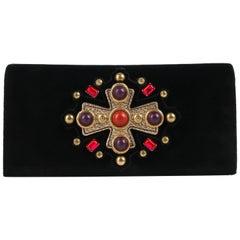 "YVES SAINT LAURENT YSL 2005 Collection ""Jeweled Sac Venise"" Clutch Handbag Purse"