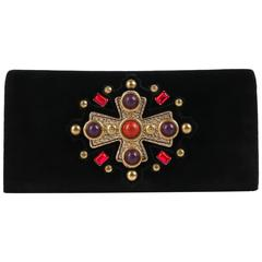 "YVES SAINT LAURENT YSL 2005 Collection ""Jeweled Sac Venise"" Clutch Handbag Purse"