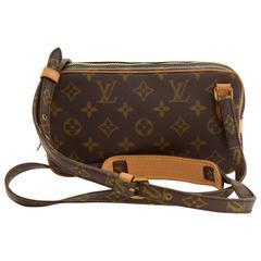 Vintage Louis Vuitton Pochette Marly Bandouliere Monogram Canvas Shoulder Bag