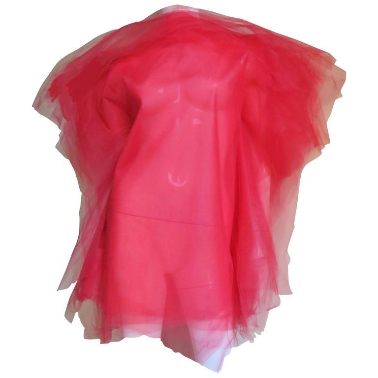 Jil Sander Net Tunic Dress