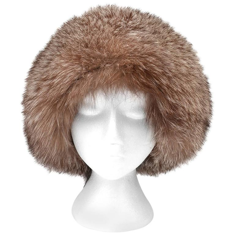 Vintage Fox Fur Chapka