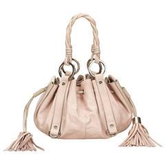 Givenchy Pink Leather Tassel Handbag