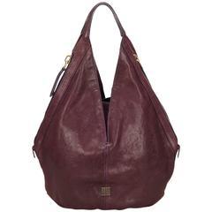 Givenchy Purple Leather Tinhan Shoulder Bag