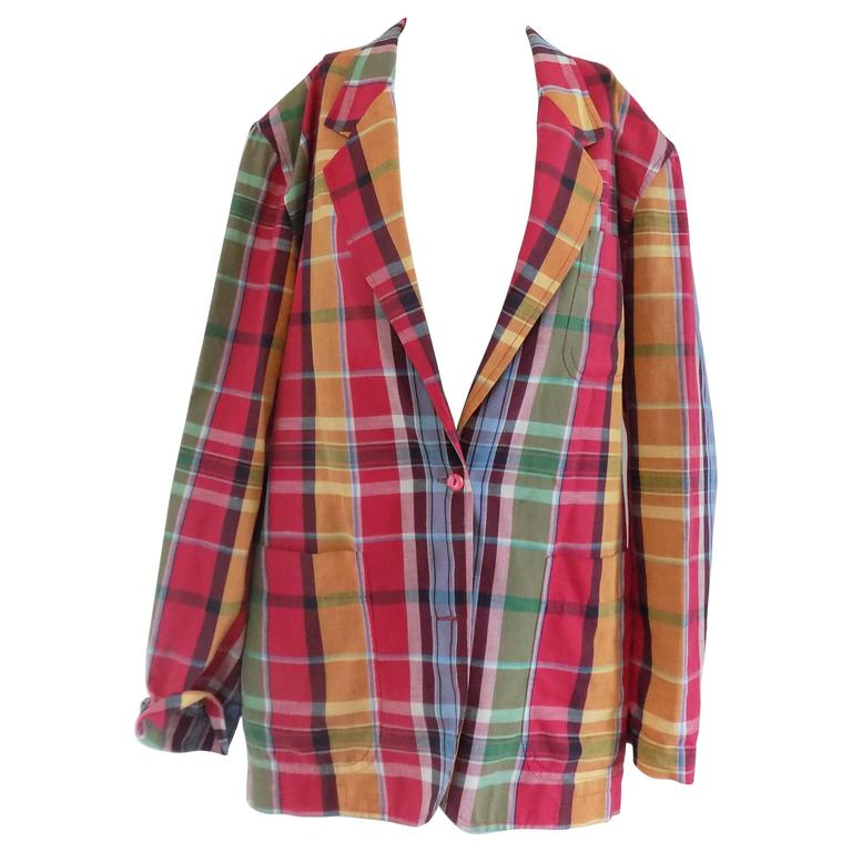 1990s Kenzo multicoulour Jacket shirt