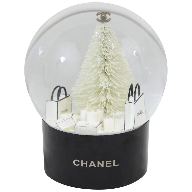 Chanel Christmas Snowball Representing Shopping Bags 1
