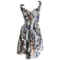 Vivienne Westwood Paisley Cotton Day Dress for Anglomania Size 42