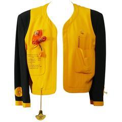 1980s MOSCHINO Cruise Me Baby Life Jacket Blazer