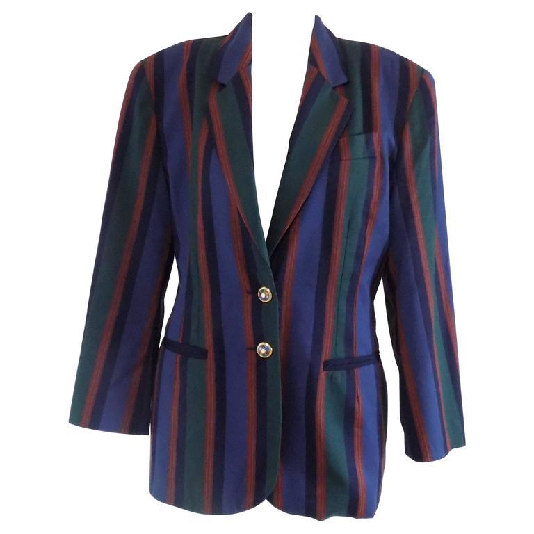 1970s Debeaux Multicolour Jacket
