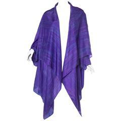 Issey Miyake Style Silk Tunic Jacket