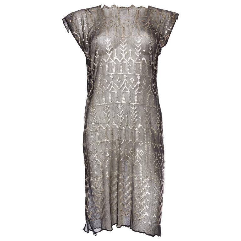 1920s Egyptian Assuit Dress
