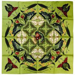 Hermes Salt Marsh Silk Scarf - Awarded for Savannah College of Art & Design