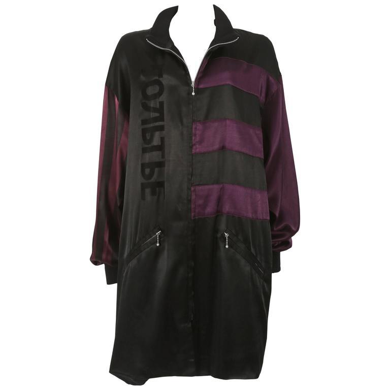 Jean Paul Gaultier unisex 'Russian Constructivist' oversized jacket, circa 1986
