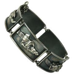 Sterling Brutalist Link Bracelet