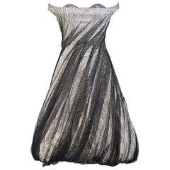 Alexander McQueen Tulle Overlay Runway Dress, 2007