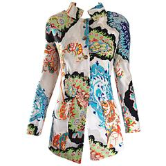 Christian Lacroix Vintage Embroidered Amazing Colorful 1990s 90s Jacket Blazer
