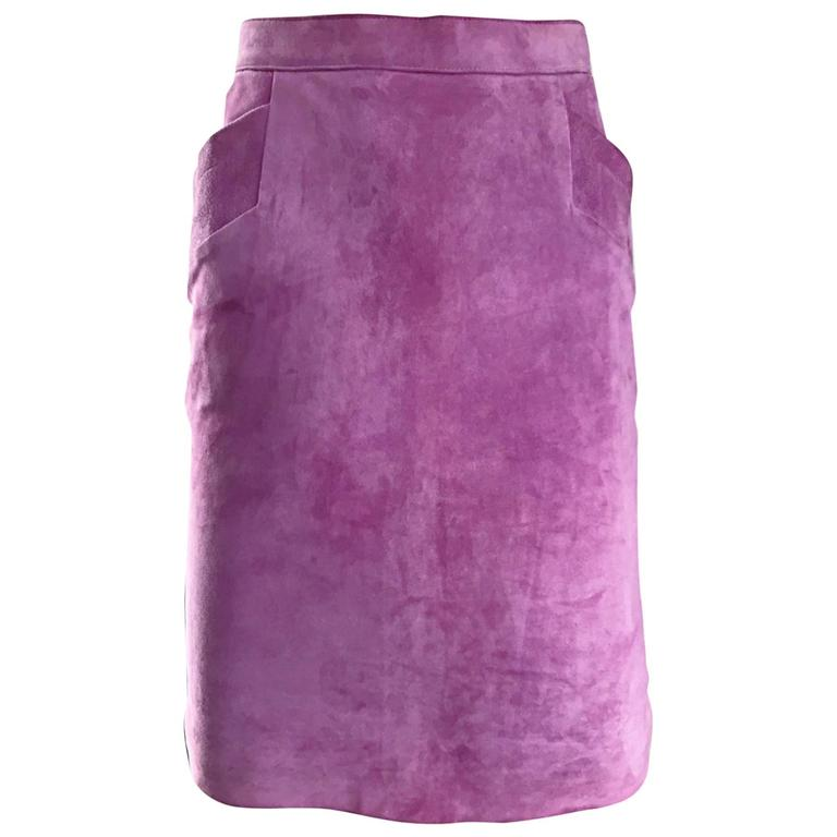 ysl vintage yves laurent purple lilac lavender
