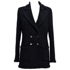 CHANEL Tweed Little Black Jacket 36... Same collection as Little Black Jacket
