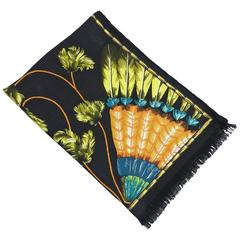 Hermes Cashmere Silk Shawl 180 x 64 cm - Brazil