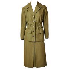 Givenchy Couture Safari Suit