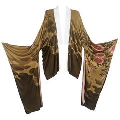 Tom Ford for Gucci silk kimono, circa 2003