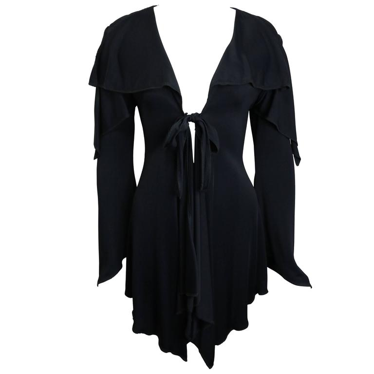 Moschino Couture Black Mid Length Cardigan